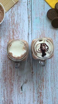 Fun Baking Recipes, Spicy Recipes, Indian Food Recipes, Cooking Recipes, Coffee Drink Recipes, Starbucks Recipes, Cream Bread Recipe, Chocolate Milkshake, Hot Chocolate Recipes