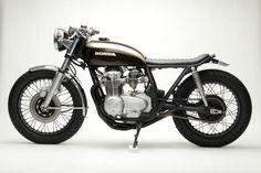 el osario • caferacerdesign: Cafe Racer Design Source Honda...