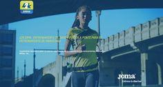 Nace 42K, una app de Joma para entrenar maratones