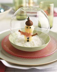 Snow Globe Dessert