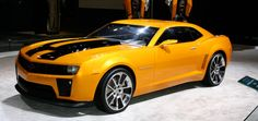 Chevrolet Camaro Transformers edition: The Chevrolet Camaro Transformer Edition is the version of American muscle for the movie. The base is the Camaro SS V8 engine with 430 hp, but for the German tuner OCT are not enough and he increase the power to over 600 HP