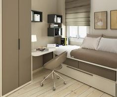 Small Bedroom Office Bedroom Not This Style But Like The Ideas