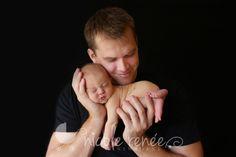 Daddy & son - newborn photography - Sleepy little love {Perry Hall Newborn Photography} » Nicole Renee Newborns - http://nicolereneenewborns.com