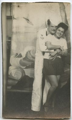 Arcade Photo- Sailor And His Lady