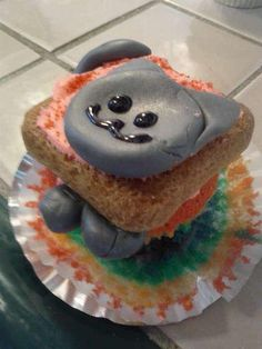 When I'm sad I want this cupcake!