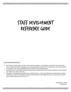 staff-dev-ref-guide2-25490831 by Courtney Drew via Slideshare