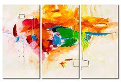 Cuadros abstractos - El loro