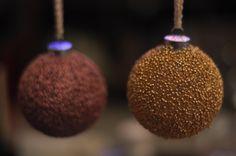 DIY Christmas Ornaments | Beaded Christmas Balls | Tuesday Tea Time » Heirloom Magazine | Vancouver Wedding Magazine