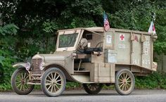 1917 Ford Model T Ambulance WW1