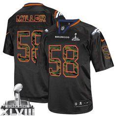 Von Miller Limited Jersey-80%OFF Nike Camo Fashion Von Miller Limited Jersey at Broncos Shop. (Limited Nike Men's Von Miller Black Super Bowl XLVIII Jersey) Denver Broncos #58 NFL Camo Fashion Easy Returns.