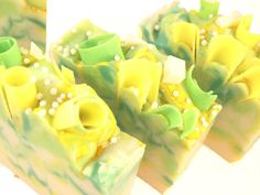Champagne Pear Handmade Vegan Cold Process Artisan Soap by svsoaps