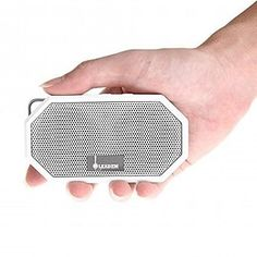 A waterproof bluetooth speaker that can fit in your back pocket.