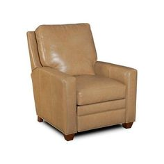 Bradington-Young Hanley 3-Way Lounger Leather Recliner Finish: Casablanca, Upholstery: 913100-95