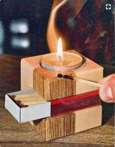 Making simple wooden candlestick - woodworking plans and projects… simple woodworking ideas, easy woodworking Wooden Crafts, Diy Wood Projects, Teds Woodworking, Woodworking Crafts, Woodworking Videos, Woodworking Joints, Learn Woodworking, Woodworking Workshop, Wood Design
