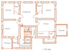 Appartamento Palazzo 3 / Agriturismo CaseGraziani, Umbria, Italy