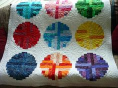 Log cabin (quilting) fever.