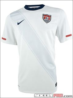 Nike USA Home Soccer Jersey - 2010-2011...$55.99