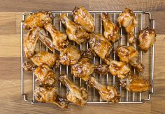 pressure cooked bbq wings on a metal cooling rack Pressure Cooker Chicken Wings, Instant Pot Pressure Cooker, Pressure Cooker Recipes, Instant Hot Pot, Crockpot Recipes, Cooking Recipes, Chicken Wing Recipes, Baked Chicken, Pressure Cooking Today