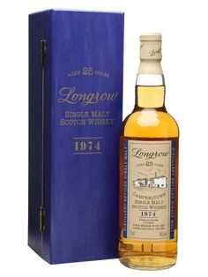 Longrow 1974 / 25 Year Old Scotch Whisky : The Whisky Exchange