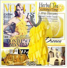 """""""Craving Some Lemon Drop Fashion!"""" by fashiontake-out on Polyvore"""
