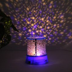 Novelty Night Light Projector Lamp Rotary Flashing LED Starry Star Moon Sky Star Projector Kids Children Gift Send in Random Best Night Light, Starry Night Light, Night Light Projector, Projector Lamp, Cosmos, Star Master, Kids Lighting, Deck Lighting, Night Lamps