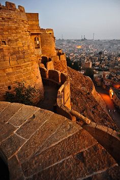 Hill forts of rajasthan - Jaisalmer Fort