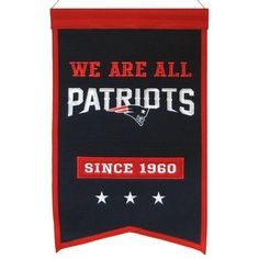 We Are All Patriots Franchise Banner