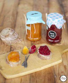 zweierlei Marmeladen aus meinem Post aus meiner Küche-Paket | my cooking love affair