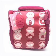 Penny Scallan Design Australia Russian Doll Girls Pink Toiletry Bag