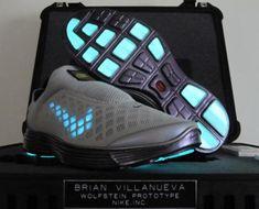 """NIKE """"WOLFSTEIN"""" PROTOTYPE CUSTOMS BY BRAIN VILLANUEVA #sneaker"""