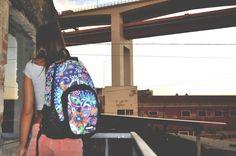 "#bonne backpack, ""Crystal"" stamp #bags #backpack #fashion"