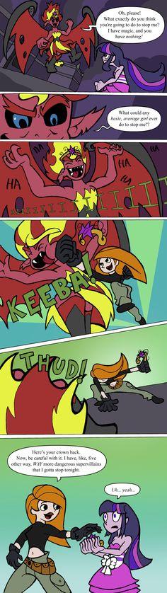 Equestria Girls Alternate Ending by TheTitan99.deviantart.com on @deviantART