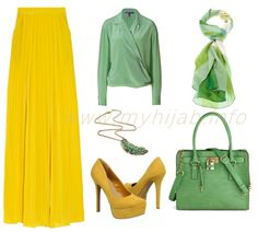 Yellow Outfits Combination Ideas