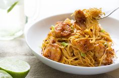 Recipe:+Bang+Bang+Shrimp+Pasta
