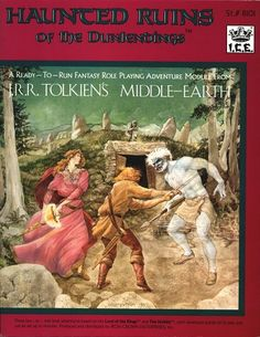 Product Line: Middle Earth Roleplaying  Product Edition: M1  Product Name: Haunted Ruins of the Dunlendings  Product Type: Ready-to-Run Adventure Mo  Author: Ruth Sochard  Stock #: 8101  ISBN: 0-915795-27-2  Publisher: ICE  Cover Price: $6.00  Page Count: 31  Format: Softcover  Release Date: 1985  Language: English