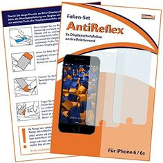 mumbi Displayschutzfolie iPhone 6 6s Schutzfolie AntiReflex matt (2er Set) - http://www.xn--handyhllen-shop-4vb.de/produkt/mumbi-displayschutzfolie-iphone-6-6s-schutzfolie-antireflex-matt-2er-set/