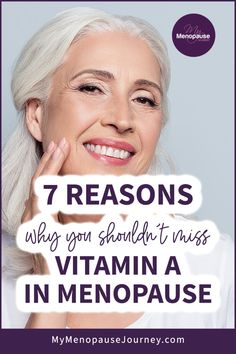 """Vitamin A's Health Benefits   The first thing that usually comes into our mind when we hear of Vitamin A is """"remedy for poor vision"""". Little did we know that s vitamin can also ease numerous symptoms related to menopause! What are vitamin A's health benefits? │ Benefits of Vitamin A for Menopause │ Health Benefits You Can Get from Vitamin A │ #VitaminAHealthBenefits #BenefitsOfVitaminAForMenopause #WhyYouShouldTakeVitaminA via @MyMenopauseJourney Supplements For Anxiety, Supplements For Women, Natural Supplements, Weight Loss Supplements, Benefits Of Vitamin A, Vitamin A Foods, Health Benefits, Health Tips, Natural Remedies For Menopause"""