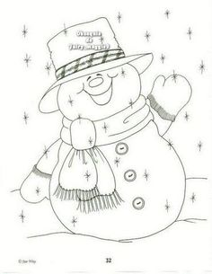 Awesome Most Popular Embroidery Patterns Ideas. Most Popular Embroidery Patterns Ideas. Christmas Colors, Christmas Snowman, Christmas Crafts, Christmas Coloring Pages, Coloring Book Pages, Christmas Templates, Christmas Printables, Christmas Embroidery, Hand Embroidery