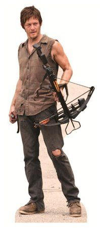 The Walking Dead - Daryl Dixon Lifesize Standup Poster