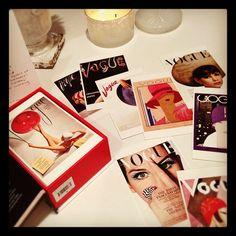 Chic Vogue Postcards