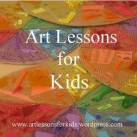 Art Lessons For Kids Inspiration for parents, teachers and anyone who loves teaching art- love this site!