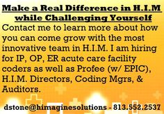 Make a Real Difference in H. while Challenging Yourself! Medical Coding Jobs, Medical Coder, Healthcare Jobs, Acute Care, 15 Years, Remote, Health Care, Challenges, Feelings