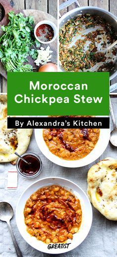 3. Moroccan Chickpea Stew #vegetarian #dinner #recipes http://greatist.com/eat/healthy-dinner-recipes-for-vegetarians