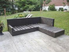 Cl ture de jardin en bois 75 id es pour faire un bon choix for Acheter un divan