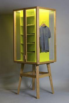 Креативный шкаф от студии Hierve Diseñeria