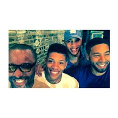 #aboutlastnite #happybirthdayjussie  @yazzthegreatest @traibyers @jussiesmollett ❤️