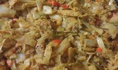 Cabbage and Vegetable Stir Fry, with Beef - Mom's Cookbook Vegetable Stir Fry, No Carb Diets, Potato Salad, Fries, Cabbage, Low Carb, Potatoes, Beef, Vegetables