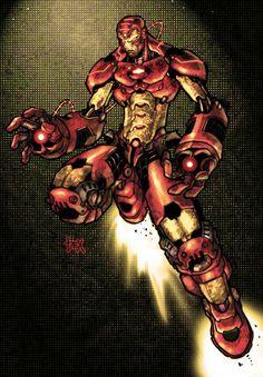 iron man by nefar007