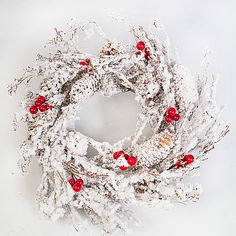 Snow and Berry Wreath http://www.serenataflowers.com/en/uk/flowers/next-day-delivery/product/105872/snow-and-berry-wreath?refPageID=4950&refDivID=4|center|product-set|bestsellers|2x5|1+++2|1|product|105872|image|140x140|standing|3|1|standard|