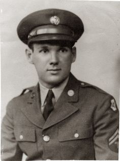 Military Memories: Uncle Harold and WWII #genealogy #familyhistory #militarymemories